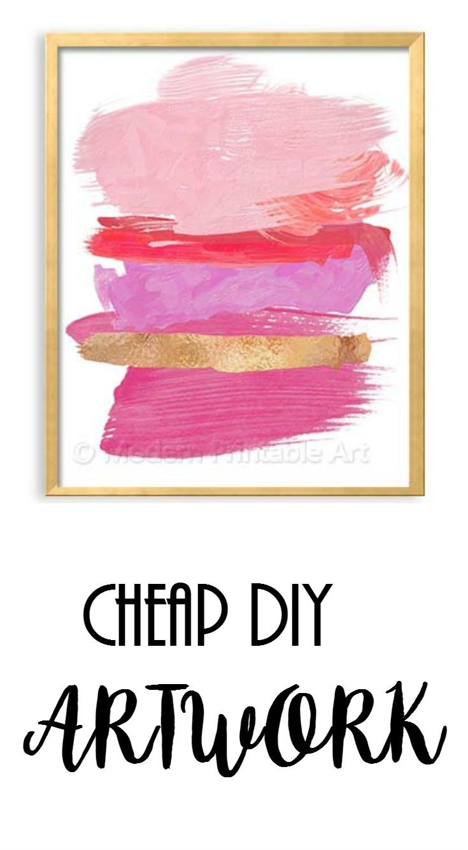 Cheap DIY Artwork! • Project Allen Designs