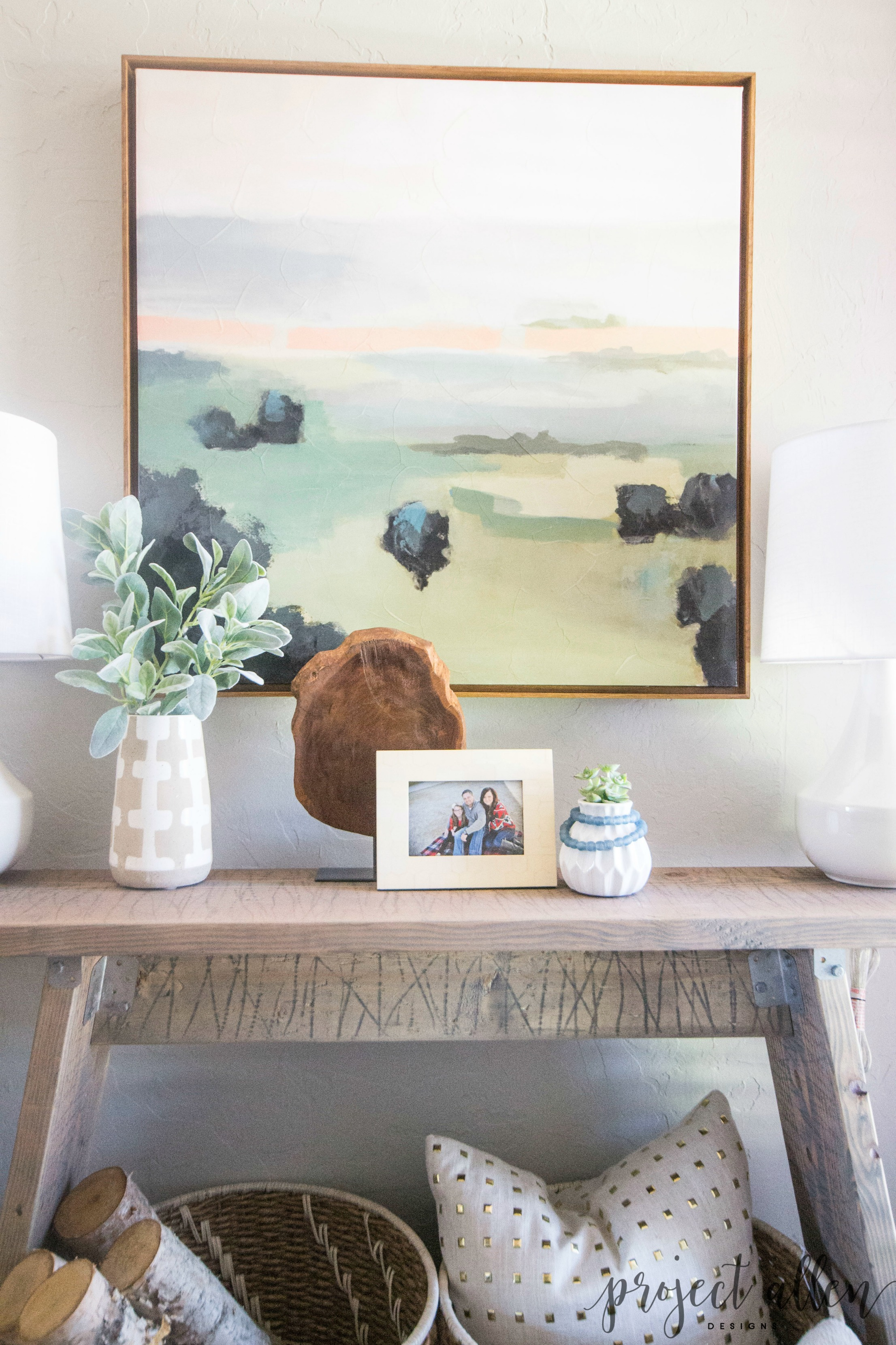 A Gorgeous Diy Console Table Anyone Can Make Project Allen Designs