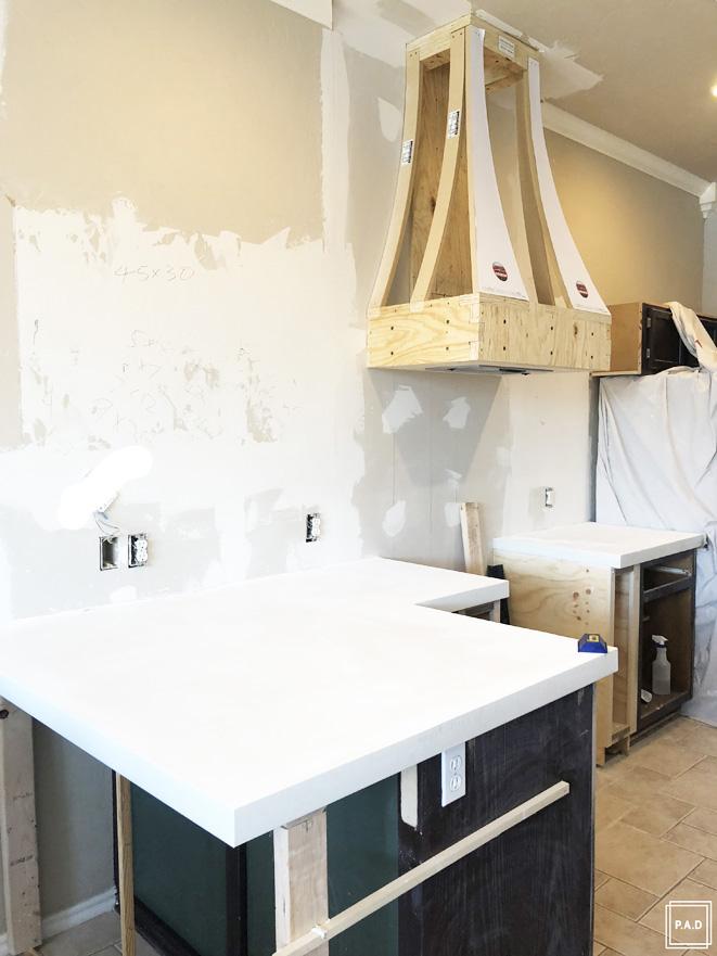 Diy White Concrete Countertops Project Allen Designs